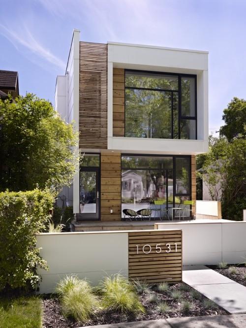 Wood Slat Architecture